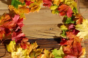 Herbstlaub - Textlänge